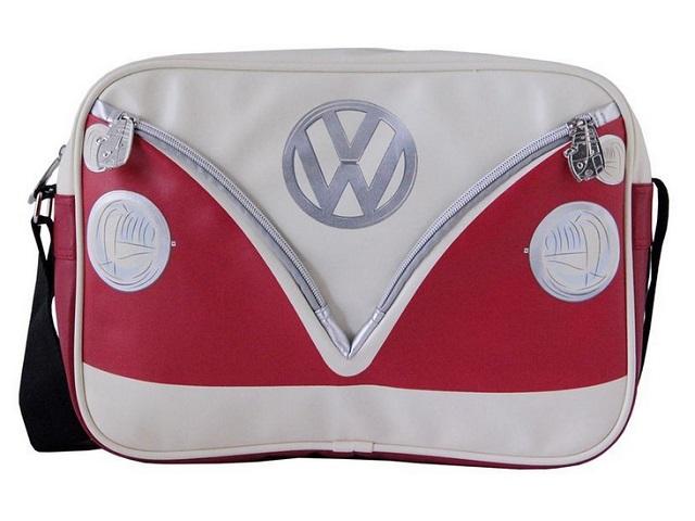 Schoudertas Volkswagen : Schoudertas vw t cm rood wit busl