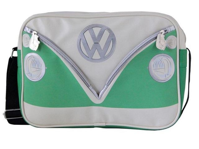 Schoudertas Volkswagen : Schoudertas vw t cm groen wit busl
